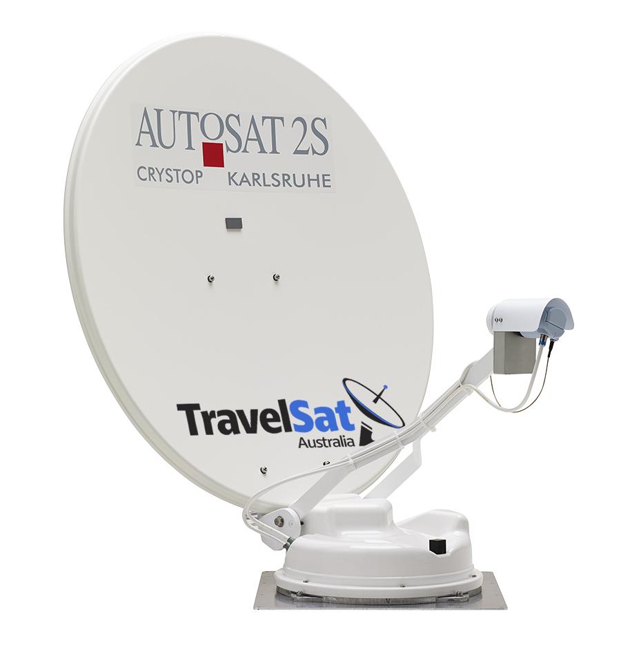 Autosat 2S Control - Fully Automatic Satellite Dish