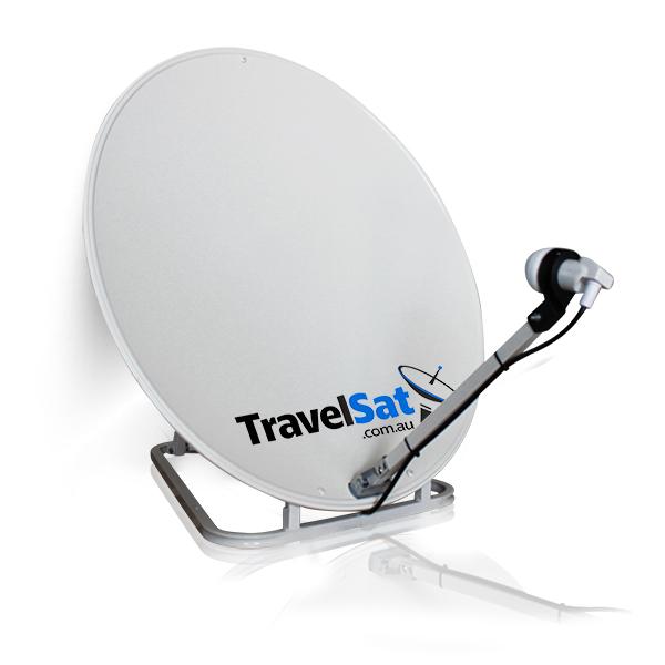 TravelSat-V2 Portable Satellite Dish - LNB & Carry Bag Included