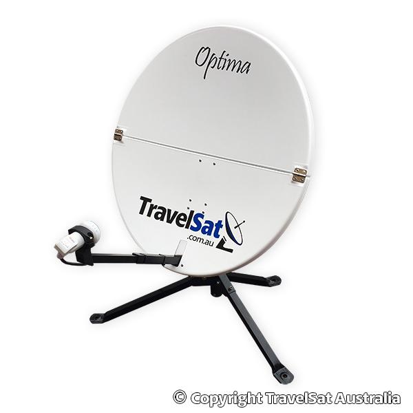 TravelSat Optima-T2 Mobile PayTV Satellite Kit (DELUXE)