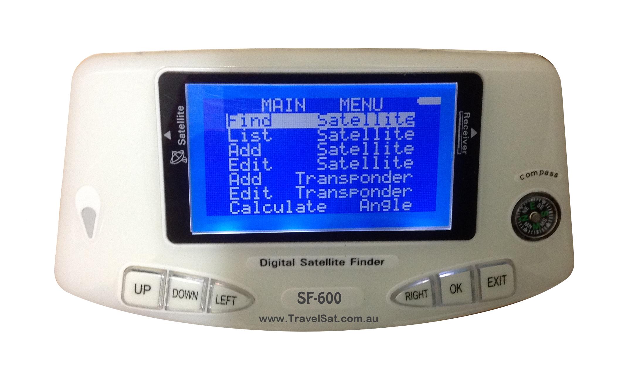 TravelSat SF600 Digital Satellite Finder